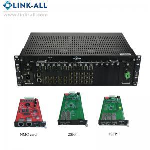 Quality UC6100-1U Hot-Swappable 10g 3r fiber optical Media Converter Transponder for sale
