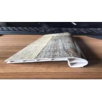 China Interior Decoration PVC Flooring Accessories / SPC Skirting Board For Flush Stair Nose on sale