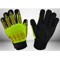 Quality Sandy Nitrile Coated Mechanic Work Gloves Good Grip Capacity For Construction for sale