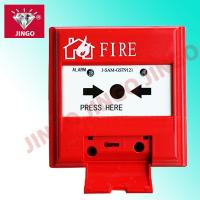 Quality Intelligent addressable fire alarm systems manual call point,reset break glass for sale