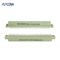 Quality Straight PCB 2row 16 32 48 64 Pin Female 2*32pin 64P DIN41612 Connector for sale