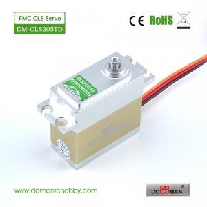 Quality DM-CLS205TD CNC full metal case metal gear Coreless motor 20kg.cm digital rc servo for sale