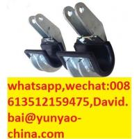 Quality ACSR Conductor OPGW Cable Lifter 120mm Hook Groove Length Rated Load 12kN Steel Hook with Rubber Lining for Pretection for sale
