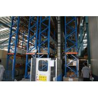 Quality heavy duty pallet Automatic Storage And Retrieval System with cold rolled steel , 30M for sale