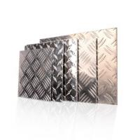 Quality 600 - 2000mm Width Aluminium Checker Plate Five Bar Tread Sheet For Boat Lift for sale