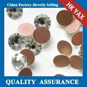 Quality F0516 crystal rhinestone,non hot fix rhinestones,rhinestone buckle for sale