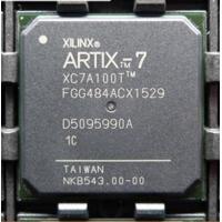 Quality Integrated Circuits FPGA Chip XC7A100T-1FGG484C 285 I/O 484FCBGA Active Part Status for sale