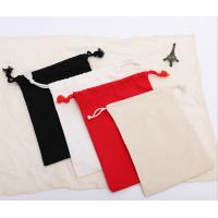 China Cotton Canvas Fabric Drawstring Bags For Department Store Promotional Activities on sale
