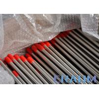 Buy cheap Custom Length Seamless Nickel Alloy Pipe 0.71mm - 2.11mm Wall Thickness from wholesalers