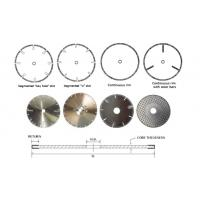 Electroplated Diamond Cutting Blades & Discs for Cutting Marble, Granite, Thermosettin miya@Moresuperhard.com