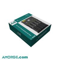 Amorge A4 4 Bay 18650 Battery Charger Best Charger 05a Vape Charger