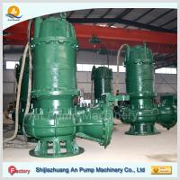 Quality shijiazhuang steel centrifugal submersible sewage pump for sale