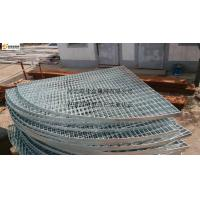 Quality Fan-shaped steel grating for sale