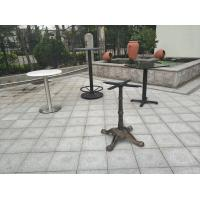 China Outdoor Cast Iron Table Base Waterproof Outdoor Bar Table on sale