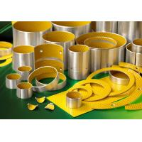 Buy cheap Cylindrical Standard Flanged Sleeve Bearing , Dry Sliding POM DX Bushing from wholesalers