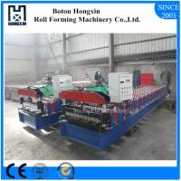 Quality Aluminum Profile Corrugated Roof Sheeting Machine 760mm Cover Width for sale