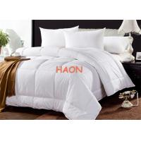 Quality Eco Certificate 100% Cotton With Feather Fiber Quilt Hotel Duvet for sale