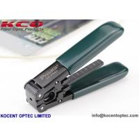Buy cheap Drop Cable Stripper Fiber Optic Tools SC Fast Connector Kits 250um Coating from wholesalers