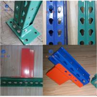 Buy cheap Corrosion Resistance Teardrop Pallet Rack Storage Racking System Q235B Raw Steel from wholesalers