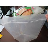 Quality Plastic Clear Stand Up Zipper Pouch Bags General Purpose Oxygen Resistance for sale