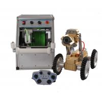 Quality Remote Control Sewer Pipe Inspection Robot With High Resolution Camera for sale