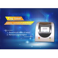 Buy Q Switch ND YAG Laser Pigment Removal Machine , Salon tattoo removal laser equipment at wholesale prices