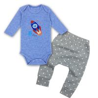 China 100% Cotton Tiny Baby Clothes  Soft Newborn Baby Clothes For Boy on sale