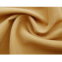 Quality Twill brushed microfiber fabric for sale