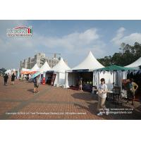 Quality 4x4m Small Pagoda Tent For Outdoor Food / Wine Festival B1 M2 for sale