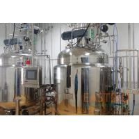 Buy cheap Ring Sparger Bioreactor System 500L Mechanical Stirred Stainless Steel Pt-100 from wholesalers