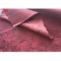 Quality Warp Knitting Embossed Bronzing Suede Sofa Fabric 100 % Eco Friendly Polyester for sale