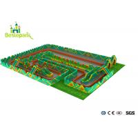 Buy cheap Huge Children Indoor Playground Family Fun Play Area CS Theme Park from wholesalers