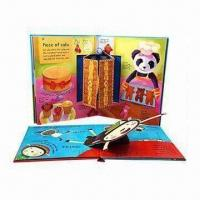 Quality Pop-up Books with Hot Stamping Surface Disposal for sale