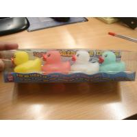 Quality New arrived waterproof light up LED color changing bath duck with 7 color flashing LED ducks for sale