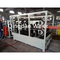 Quality Heat Insulation WPC Extrusion Line Pvc Glazed Wave Roof Production Line for sale