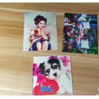 Quality OEM 3D printing factory provide  india 3d lenticular card for sale with strong 3d depth lenticular effect for sale