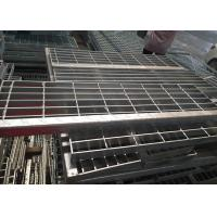 Quality Mild Steel Stair Treads Grating , Stainless Steel Stair Treads Anti Corrosion for sale