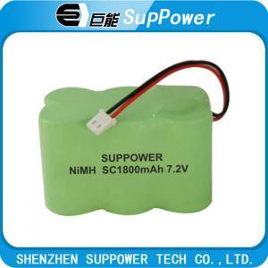 Quality nimh battery /nimh  battery pack  SC1 800mAh 7.2v for sale
