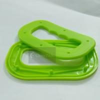 Polypropylene Plastic Bag Handles Smooth Surface With 72mm Inner Hole Length