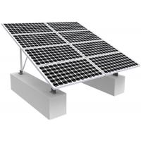 Quality Solar Photovoltaic RV Solar Mounting Systems , 0-60 Degree Solar Panel Roof Mounting Kits for sale