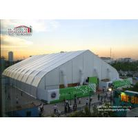 Quality 40m Width Portable Aluminum Waterproof  Exhibition TFS Polygon Tent Structures With Air Conditioner for sale