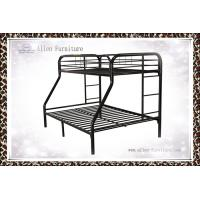 China Heavy Duty Military School Home Adult Kids Twin Over Twin Twin Over Full Metal Bunk Bed Price on sale