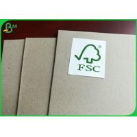 Buy cheap Selectable Thickness And High Stiffiness FSC Certificated Grey Card Board from wholesalers