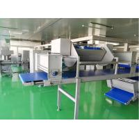 Quality Siemens PLC Dough Laminator Machine Maximal 144 Layers For Puff Pastry Dough for sale