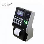 Quality Thermal Printer Biometric Time Attendance Machine , LP400 Time Clock Machine for sale