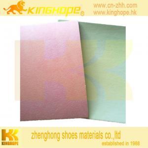 China cellulose insole board with EVA  nonwoven insole board with 1.5mm EVA on sale