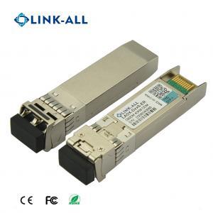 Quality 10G DWDM SFP+ 100GHz C-Band 40KM Optical Transceiver DDM Function for sale