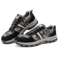 Quality Customized Lightweight Industrial Safety Shoes , Anti Alkali Casual Safety Shoes for sale