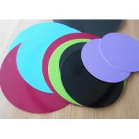 Quality Non Stick Aluminum Flat Round Metal Disks A1050 A1060 High Tensile Strength for sale