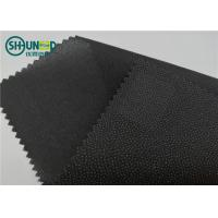 Buy cheap Eco Friendly Drill Fusing Woven Interlining Broken Twill Weave For Garment from wholesalers